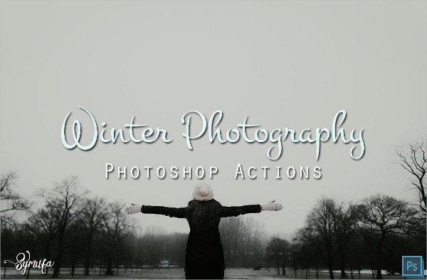 Clean Winter Photography Photoshop Actions