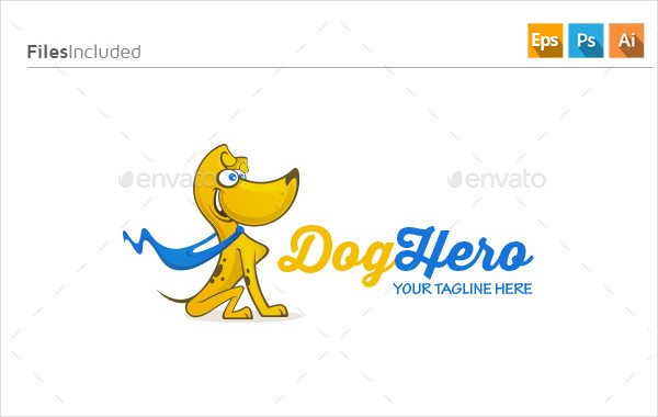 Cool Pet Logo Template