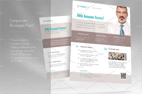 Corporate Business Consulting Flyer Template