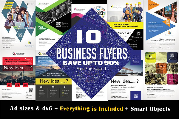 Creative Business Consulting Flyers Bundle