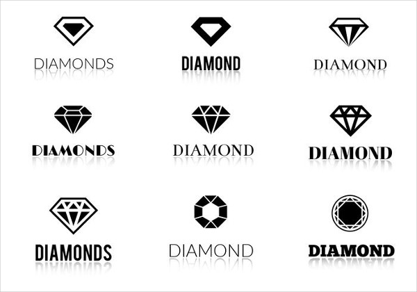 Free Vector Diamond Logos