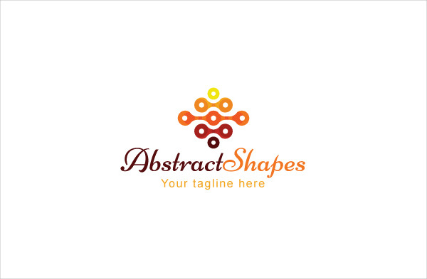 Geometrical Diamond Shape Logo Template