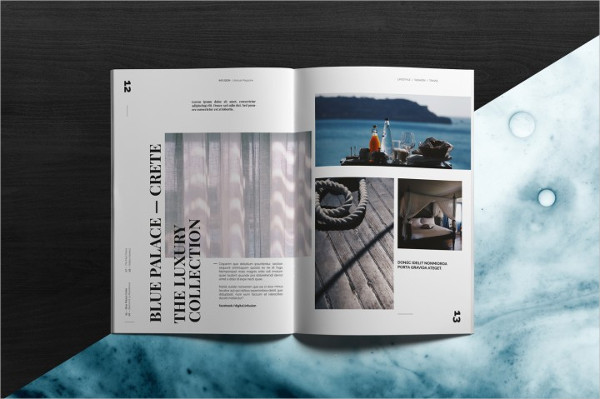 Lifestyle Infusion Magazine Template
