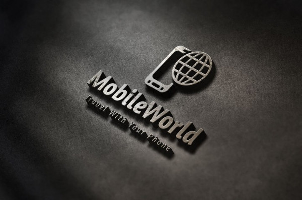 Mobile World Logo Template
