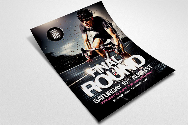 Perfect Bicycle Flyer Template
