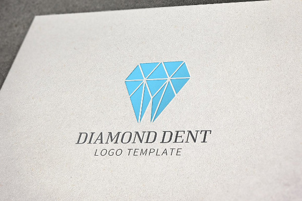 Perfect Diamond Dentistry Logo Template