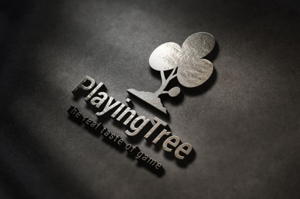 Playing Tree Stock Logo Template