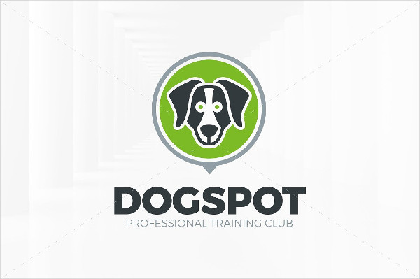 Printable Dog Spot Logo Template