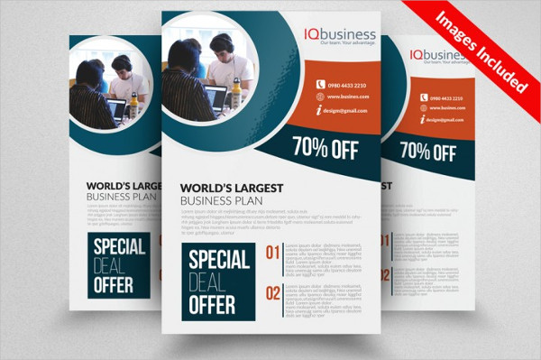 Small Business Plan Consulting Flyer Template