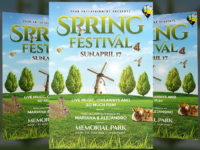 25+ Spring Flyer Templates