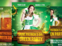 25+ St. Patrick's Day Flyers