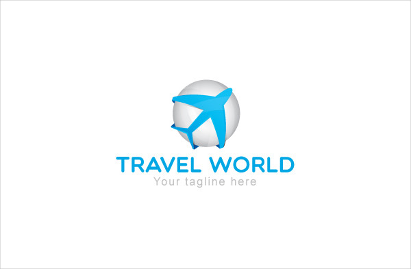 Travel World Tourism Logo Template