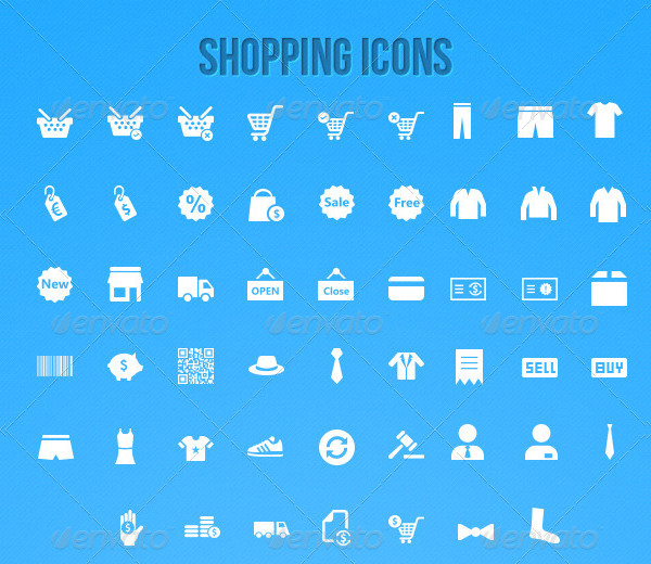 Ultimate Shopping Icon Pack