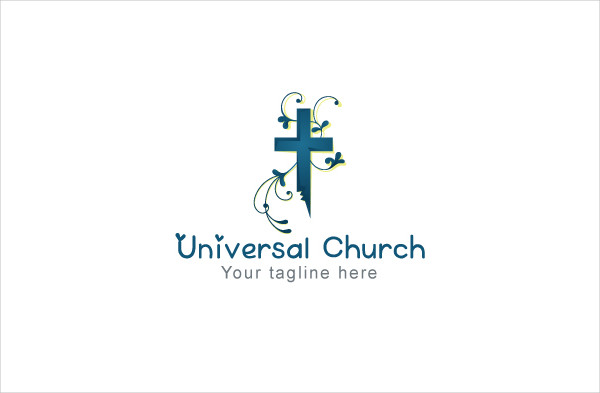 Universal Church Religious Stock Logo Template