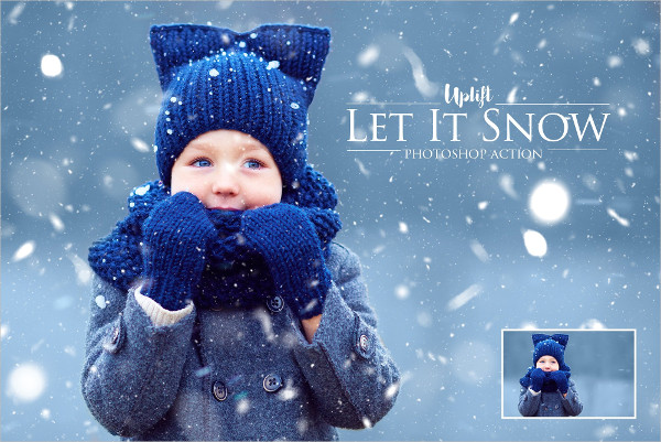 Winter Overlay Photoshop Actions