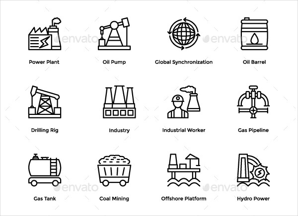 192 Construction & Industrial Icons
