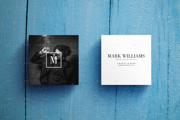 2 Business Card Mockups