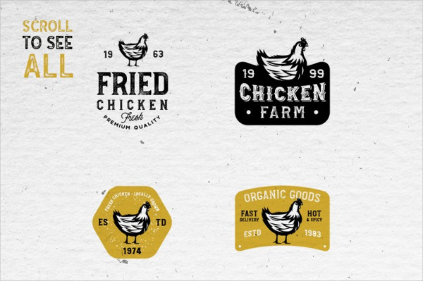 20 Farm Fresh Logos & Badges