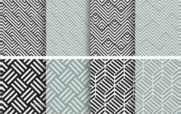 40 Seamless Geometric Patterns
