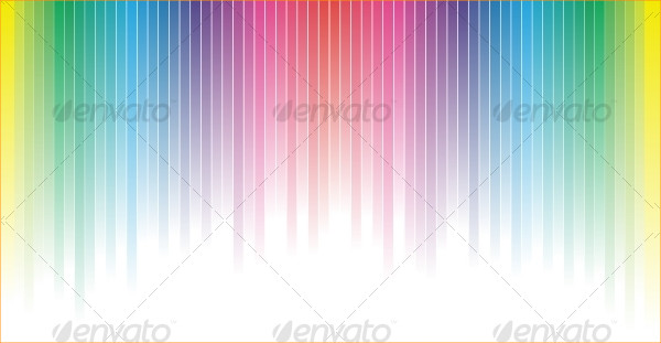 Popular Rainbow Backgrounds Vector Illustration