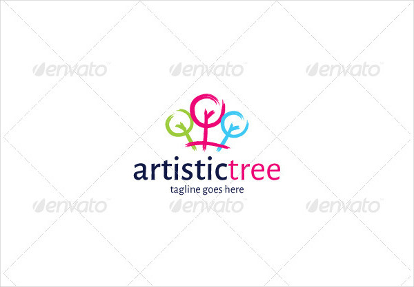 Artistic Tree Logo Template