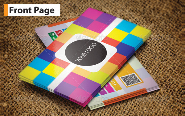 Awesome Multicolored Business Card Template