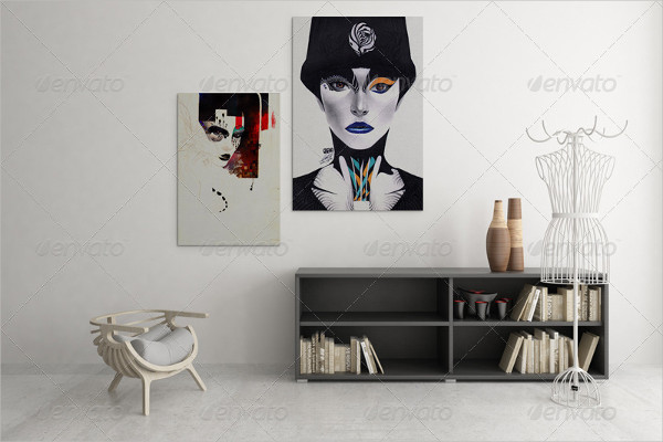 Best Art Wall Showcase Mockups