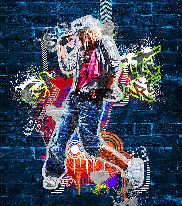 Best Graffiti Art Photoshop Action