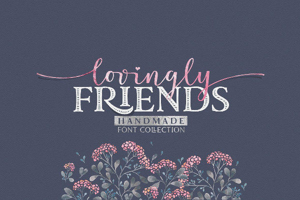 Big Love Fonts Collection