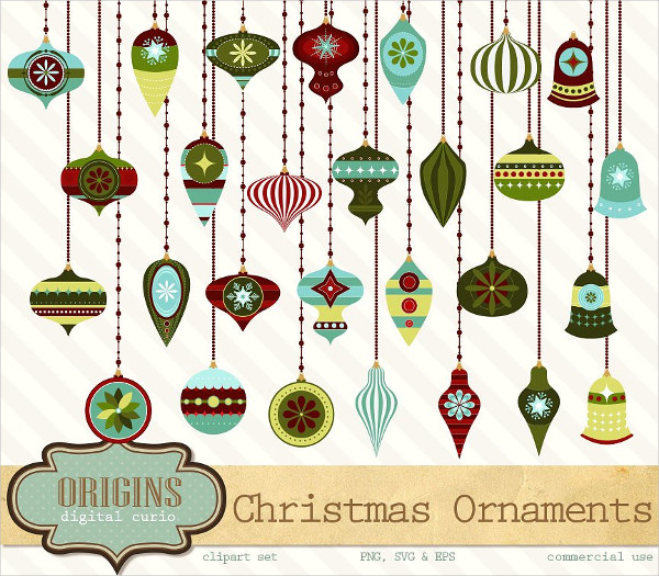 Perfect Christmas Ornament Vectors