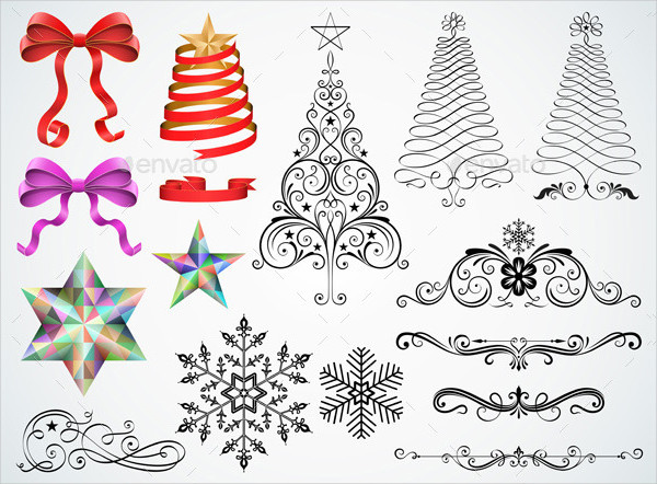 Christmas Ornaments and Design Elements