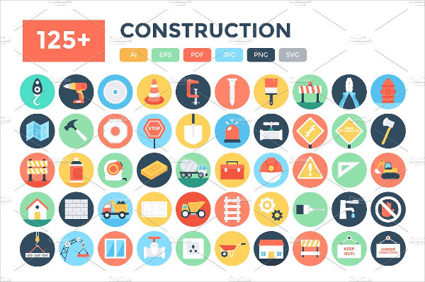 Construction Company Icons