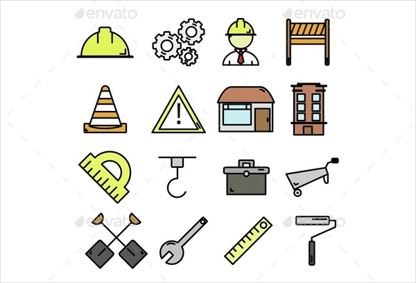 Construction Vector & Line Icon