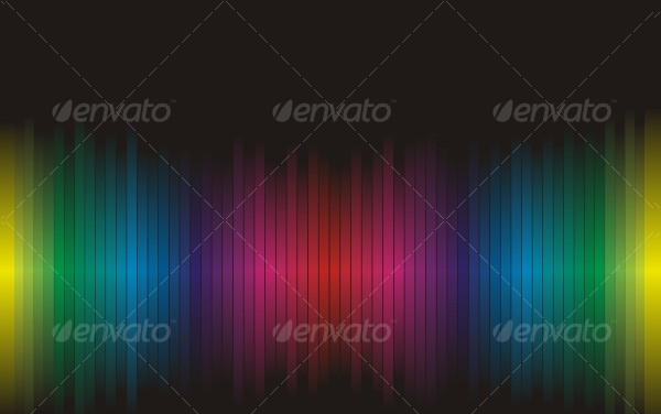Clean Rainbow Backgrounds Vector