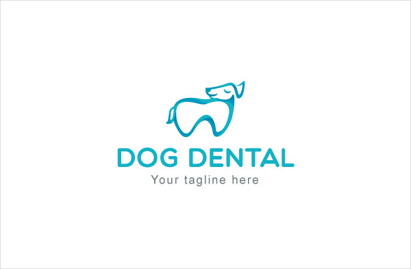Dog Dental Logo Template