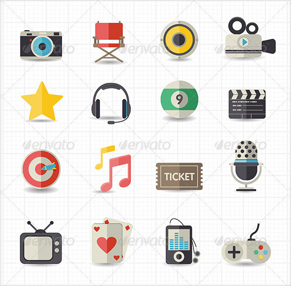 Entertainment Movie Icon Pack