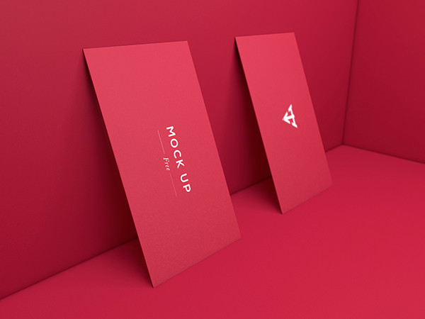 Free Business Cards Mock-Ups