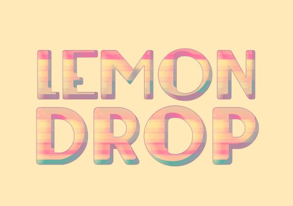 Free Lemon Drop Font