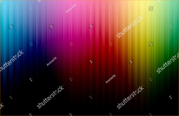 Glowing Rainbow Background
