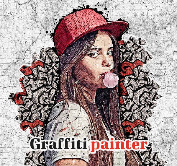 Graffiti Painter Photoshop Action