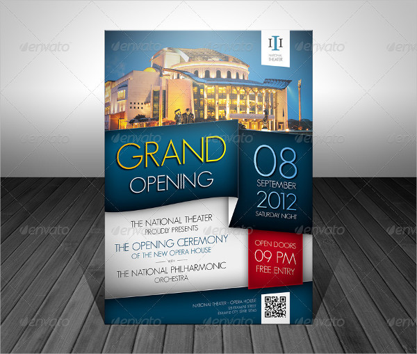 Best Grand Opening Event Flyer Template