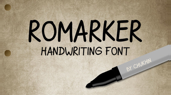 Hand Writing Doodle Font