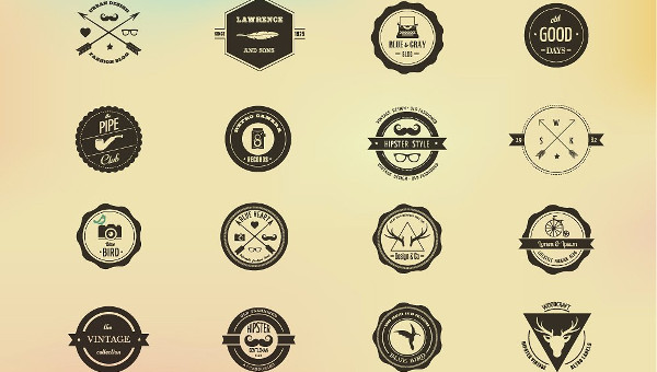 27 hipster logo templates free premium download