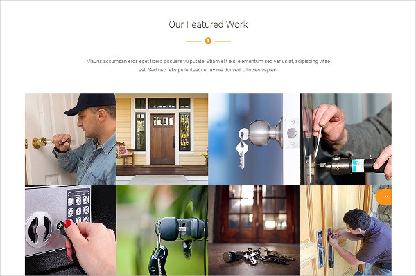 Locksmith Business Website Template