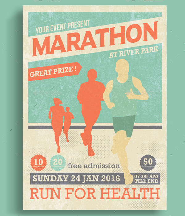 5k Race Flyer Flyer Templates Design Flyer Templates For Mandegarfo