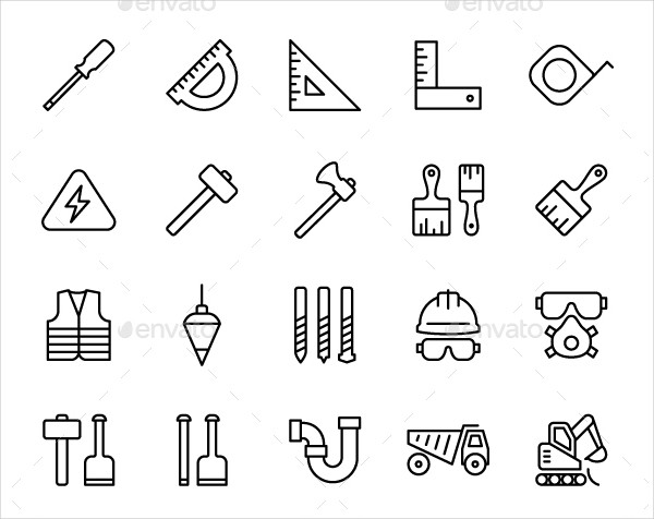 Modern Constructions Icons