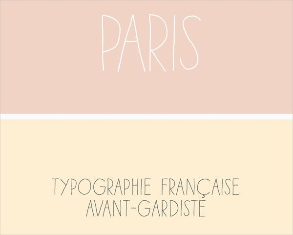 Paris Art Deco Fonts Pack