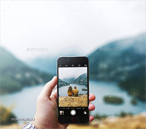 Phone Camera Photography Mockup