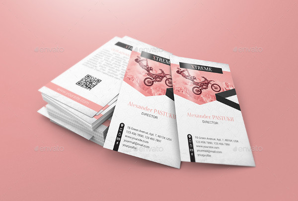 Professional Business Card Mock-Ups