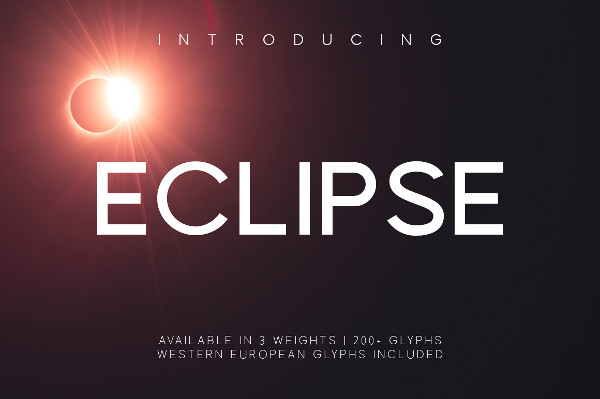 Professional Eclipse Regular Font